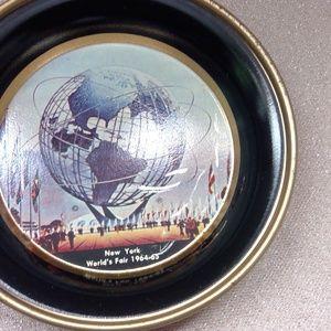 Dining - VTG Set of 5 Coasters  NY Worlds Fair 1964/65